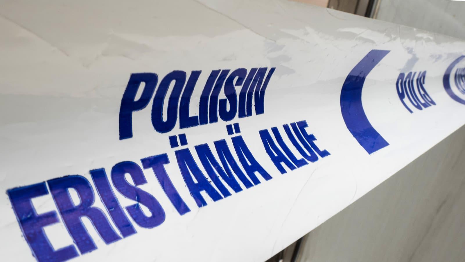 poliisin eristysnauha