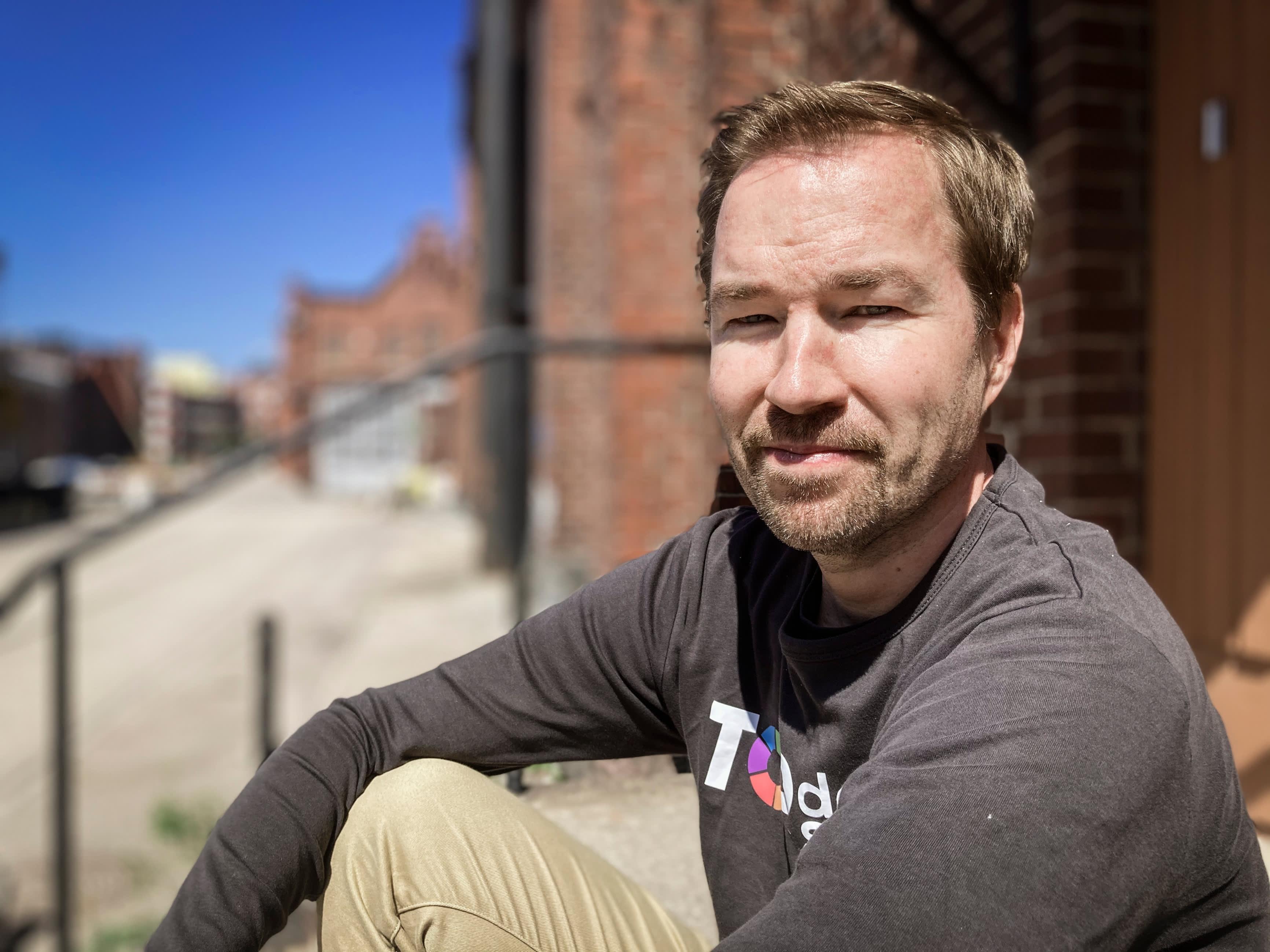 Kuvassa Top Data Sciencen toimitusjohtaja Timo Heikkinen.