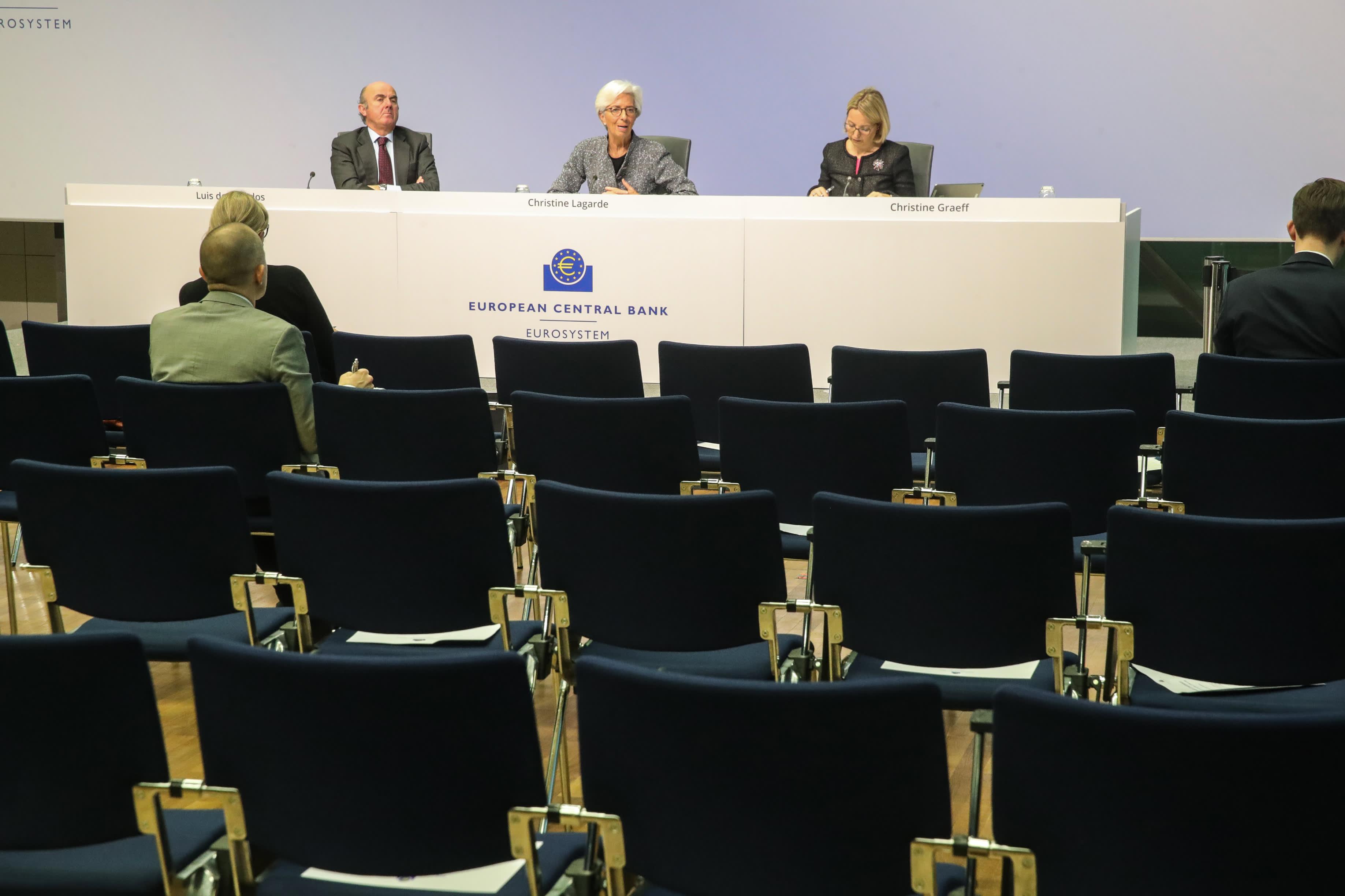 Christine Lagarde, EKP