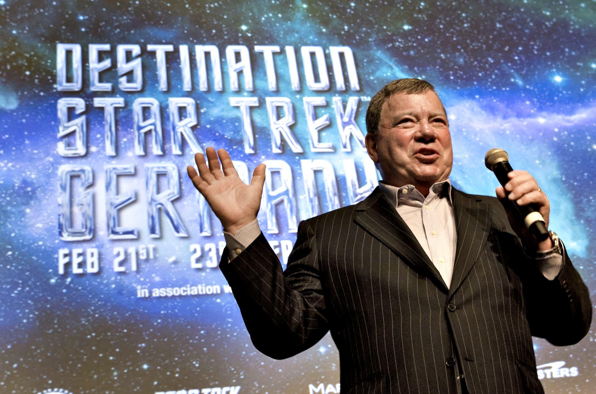 William Shatner kuvattuna helmikuussa 2014.
