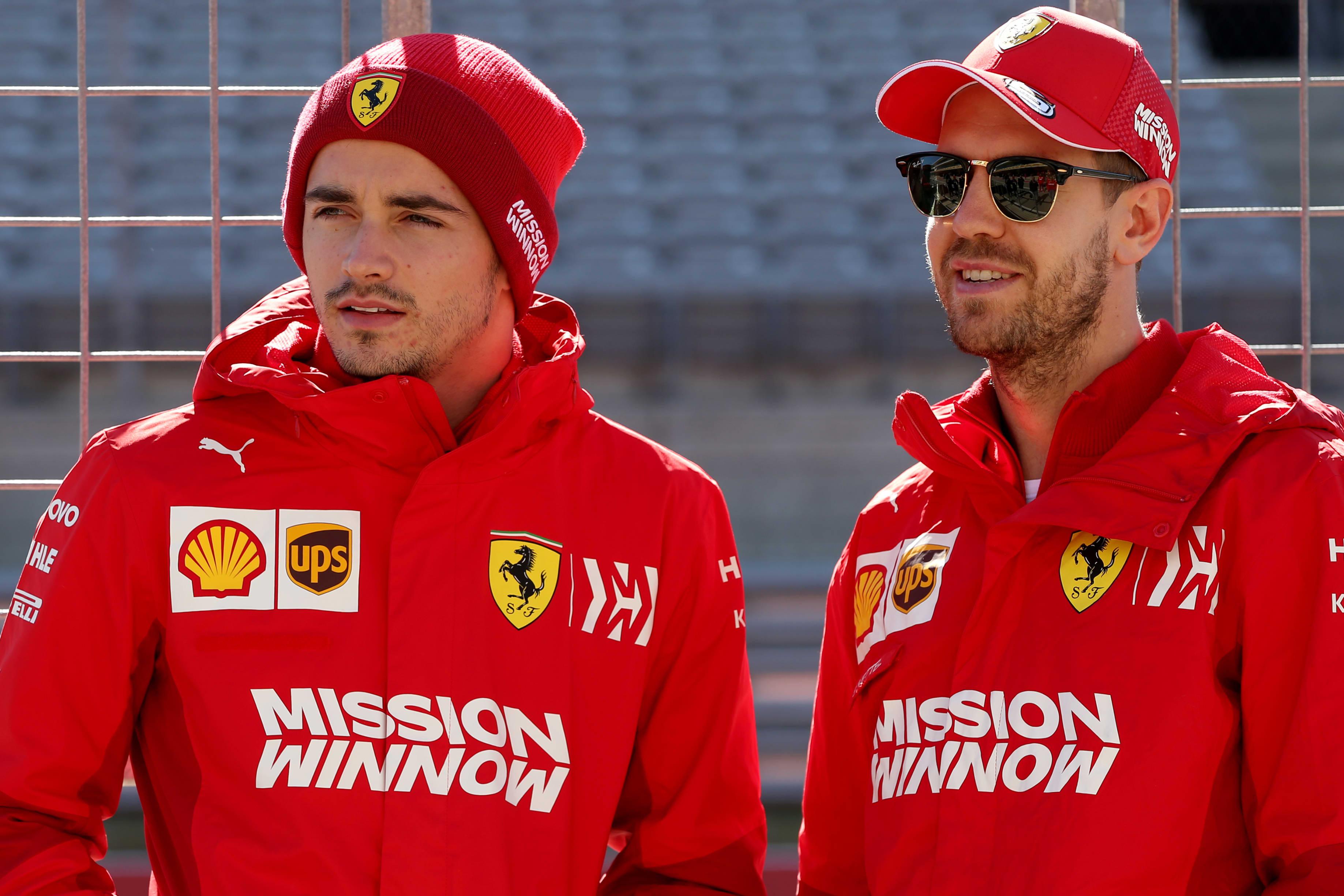 Charles Leclerc ja Sebastian Vettel 31102019