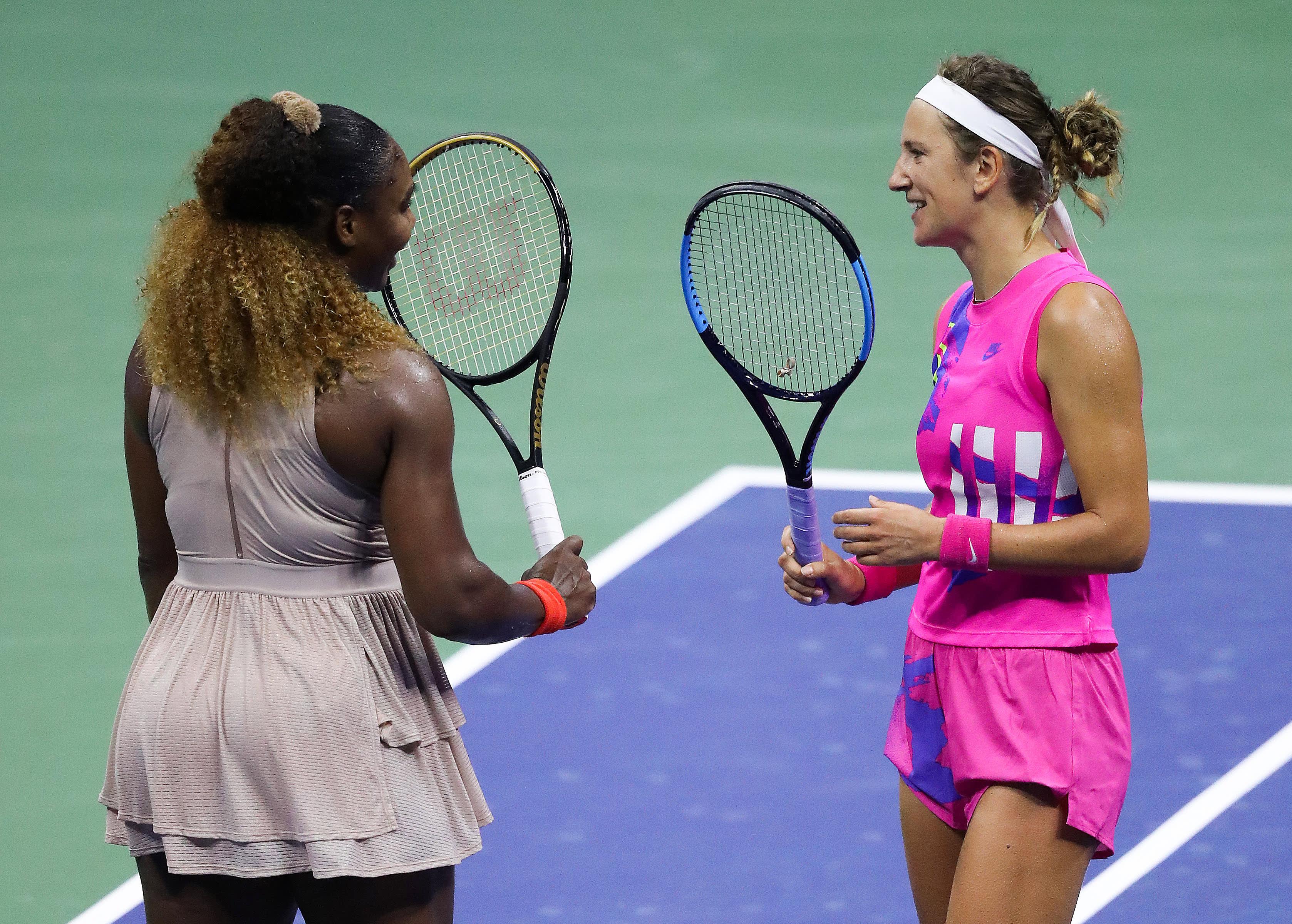 Serena Williams ja Victoria Azarenka