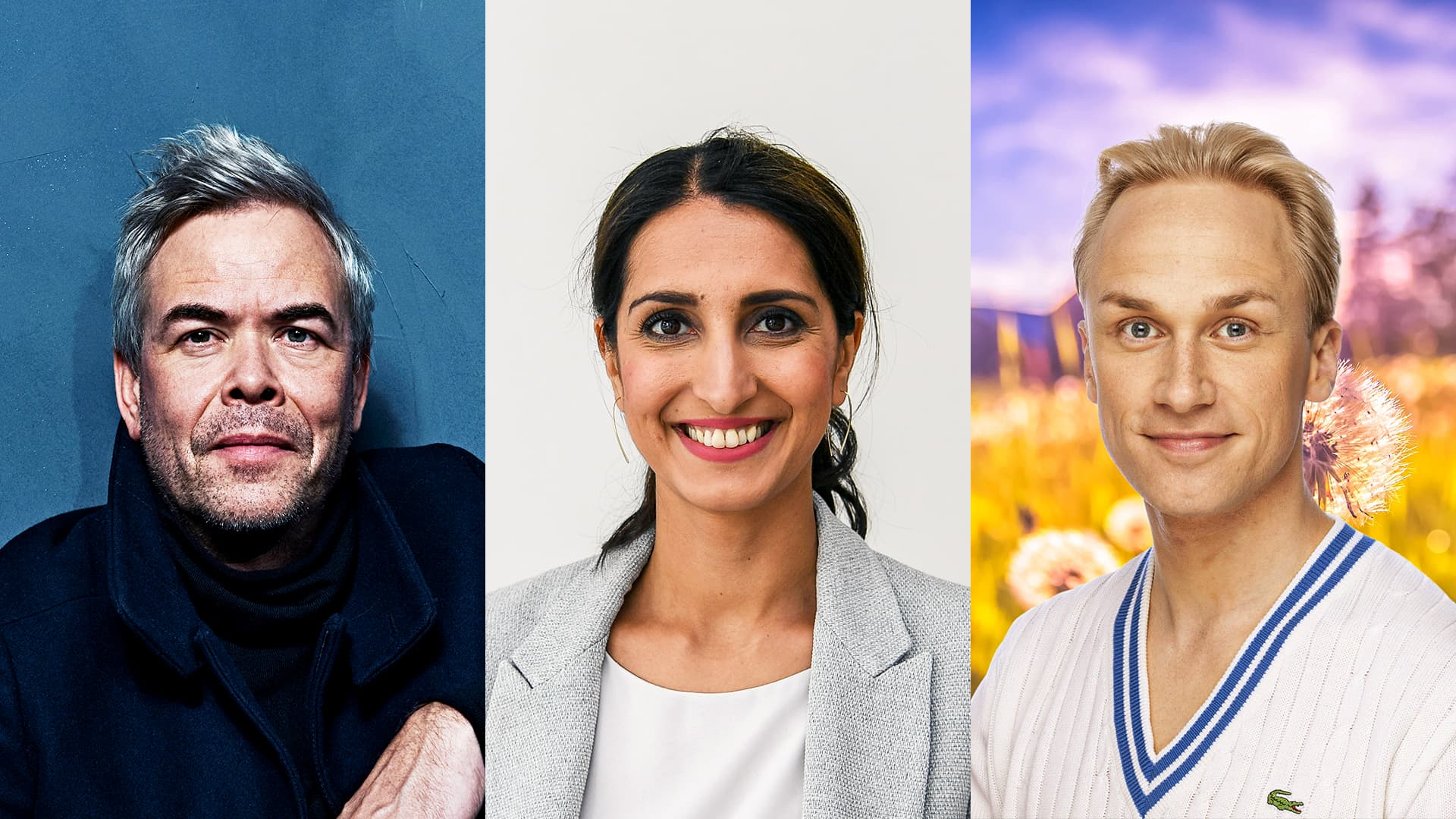 Hannu Lintu, Nasima Razmyar ja Christoffer Strandberg