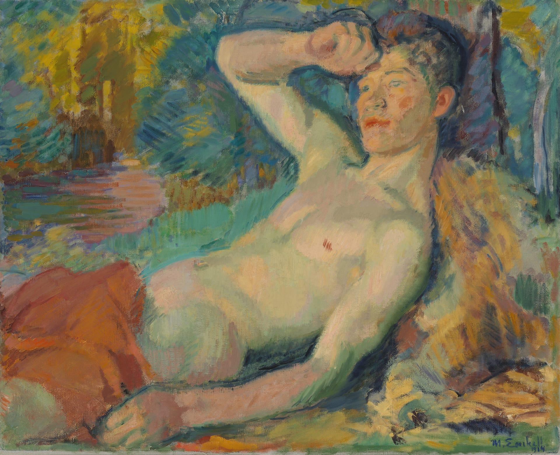 Magnus Enckell:  Heräävä fauni