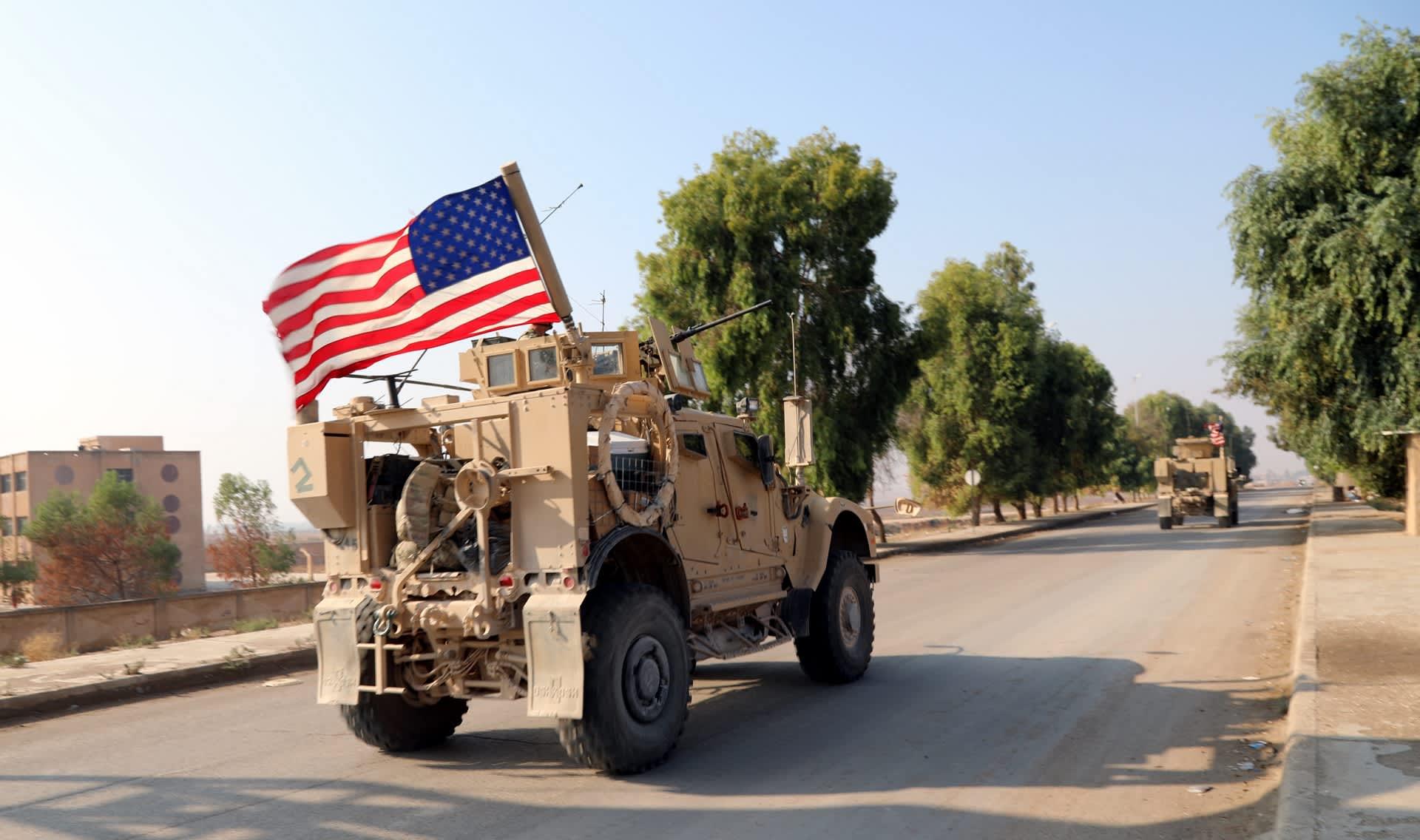 Yhdysvaltain joukkojen käyttämä panssaroitu ajoneuvo
