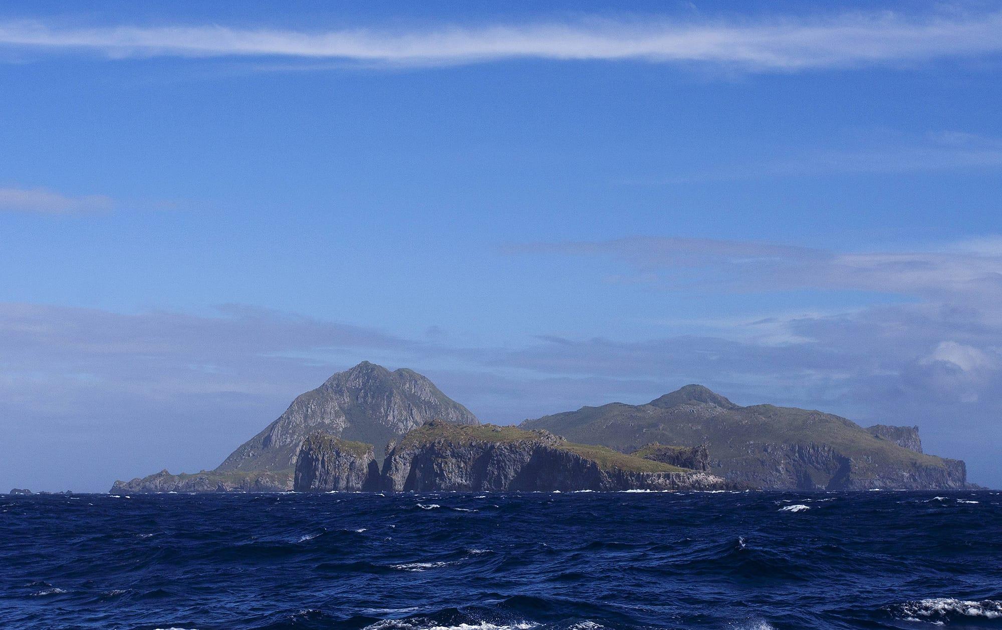 Tristan da Cunhan saari.