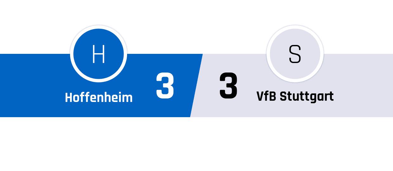 Hoffenheim - Stuttgart 3-3