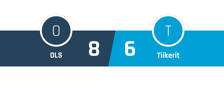 OLS - Tiikerit 8-6