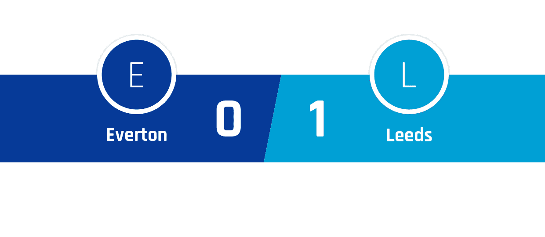 Everton - Leeds 0-1