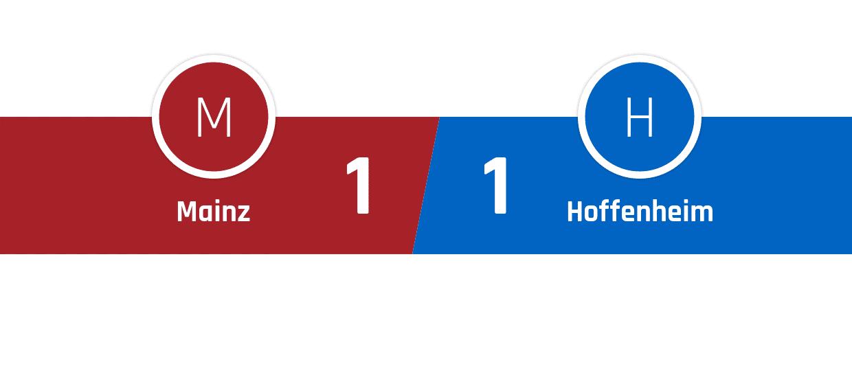 Mainz - Hoffenheim 1-1