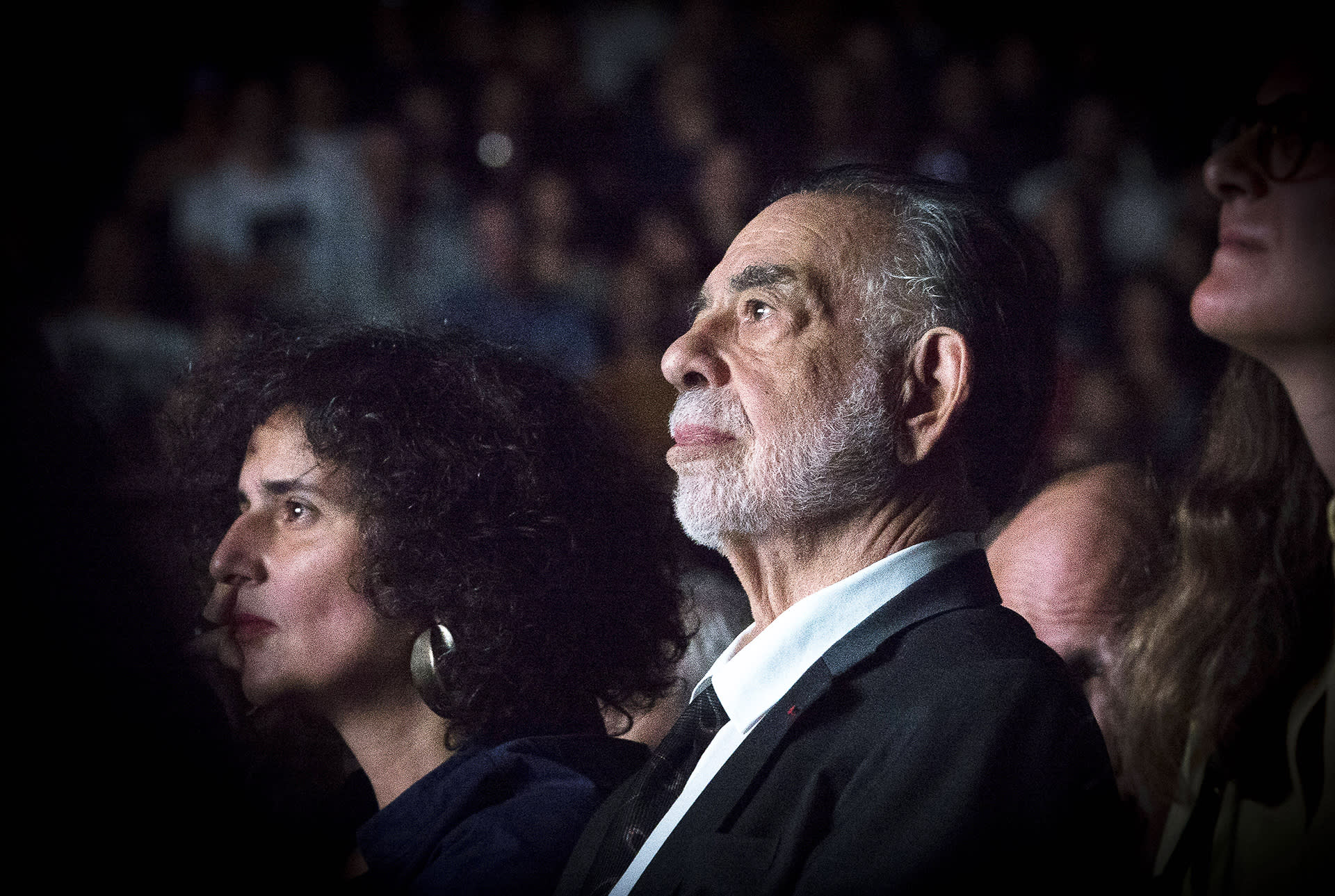 Francic Ford Coppola Lumiere-festivaalailla Lyonissa lokakuussa 2019.