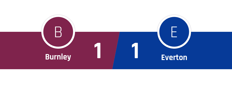 Burnley - Everton 1-1