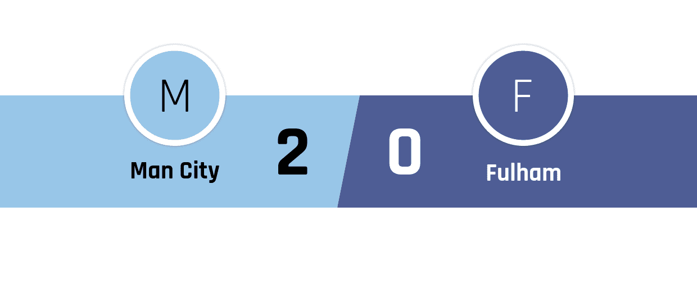 Manchester City - Fulham 2-0