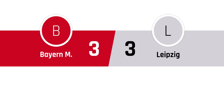 Bayern München - Leipzig 3-3