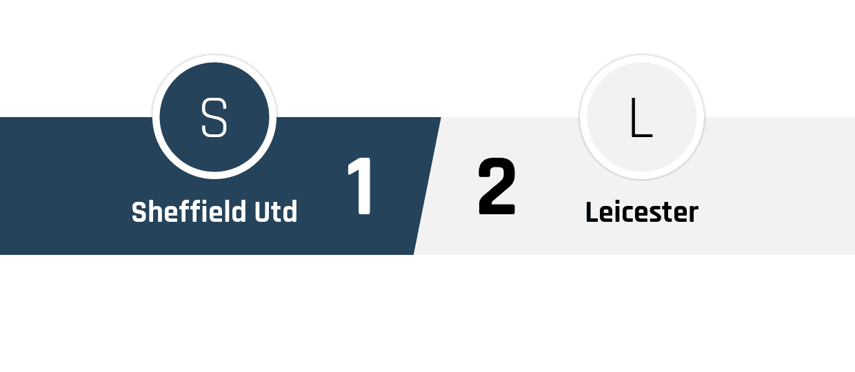 Sheffield United - Leicester 1-2