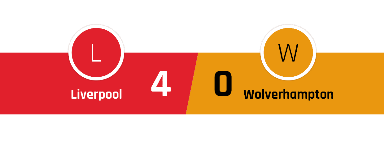 Liverpool - Wolverhampton 4-0
