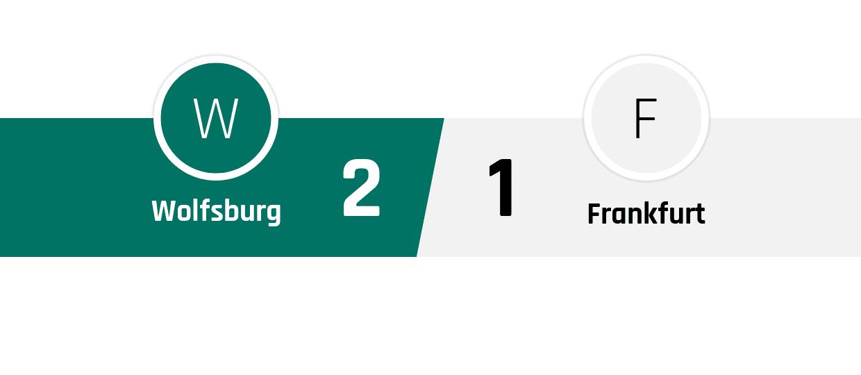 Wolfsburg - Frankfurt 2-1