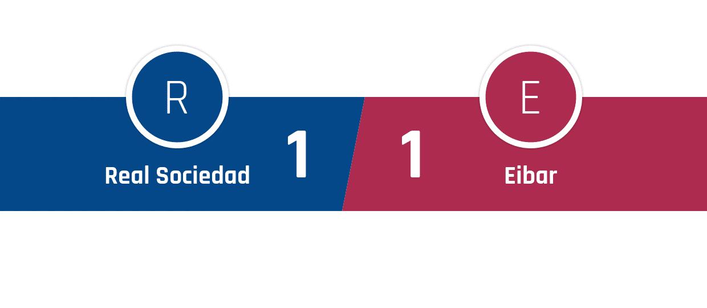 Real Sociedad - Eibar 1-1
