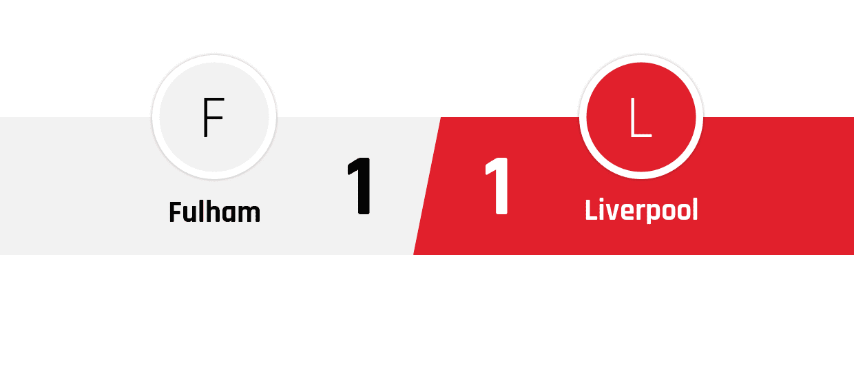 Fulham - Liverpool 1-1