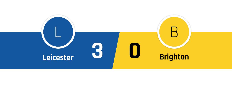 Leicester - Brighton 3-0