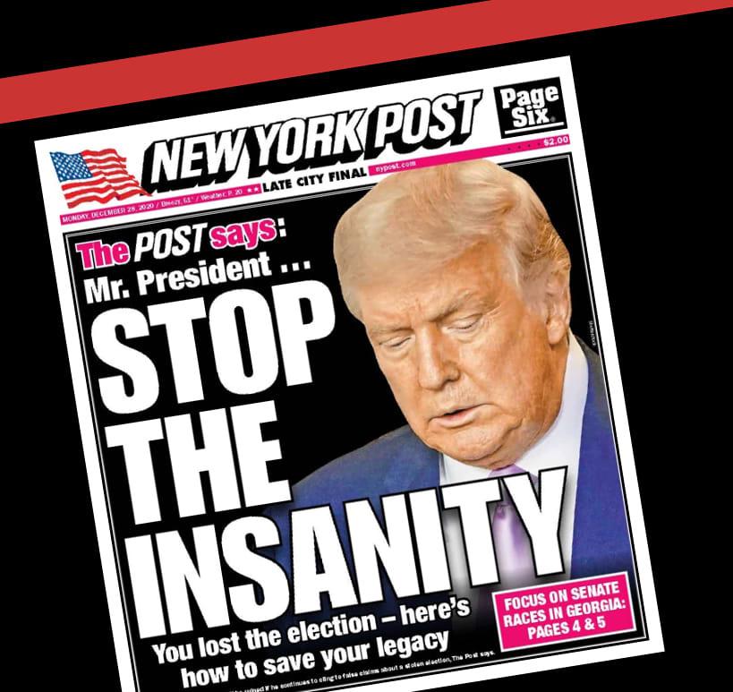 New York Postin etusivu