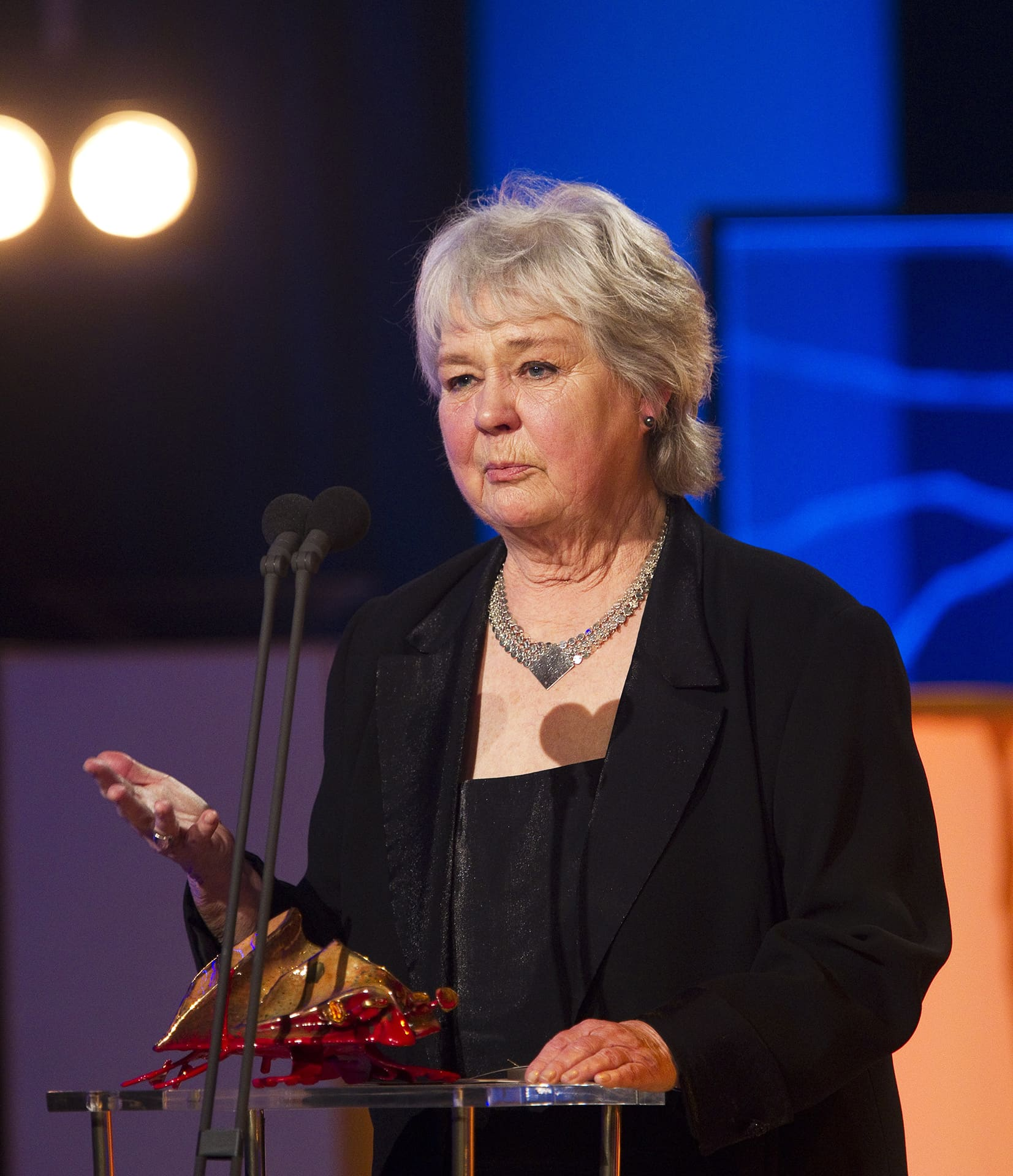Mona Malm kuvattuna vuonna 2011.