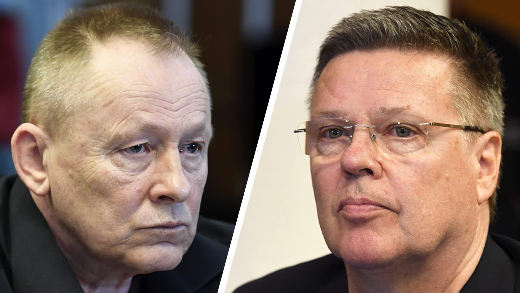 Keijo Vilhunen ja Jari Aarnio.