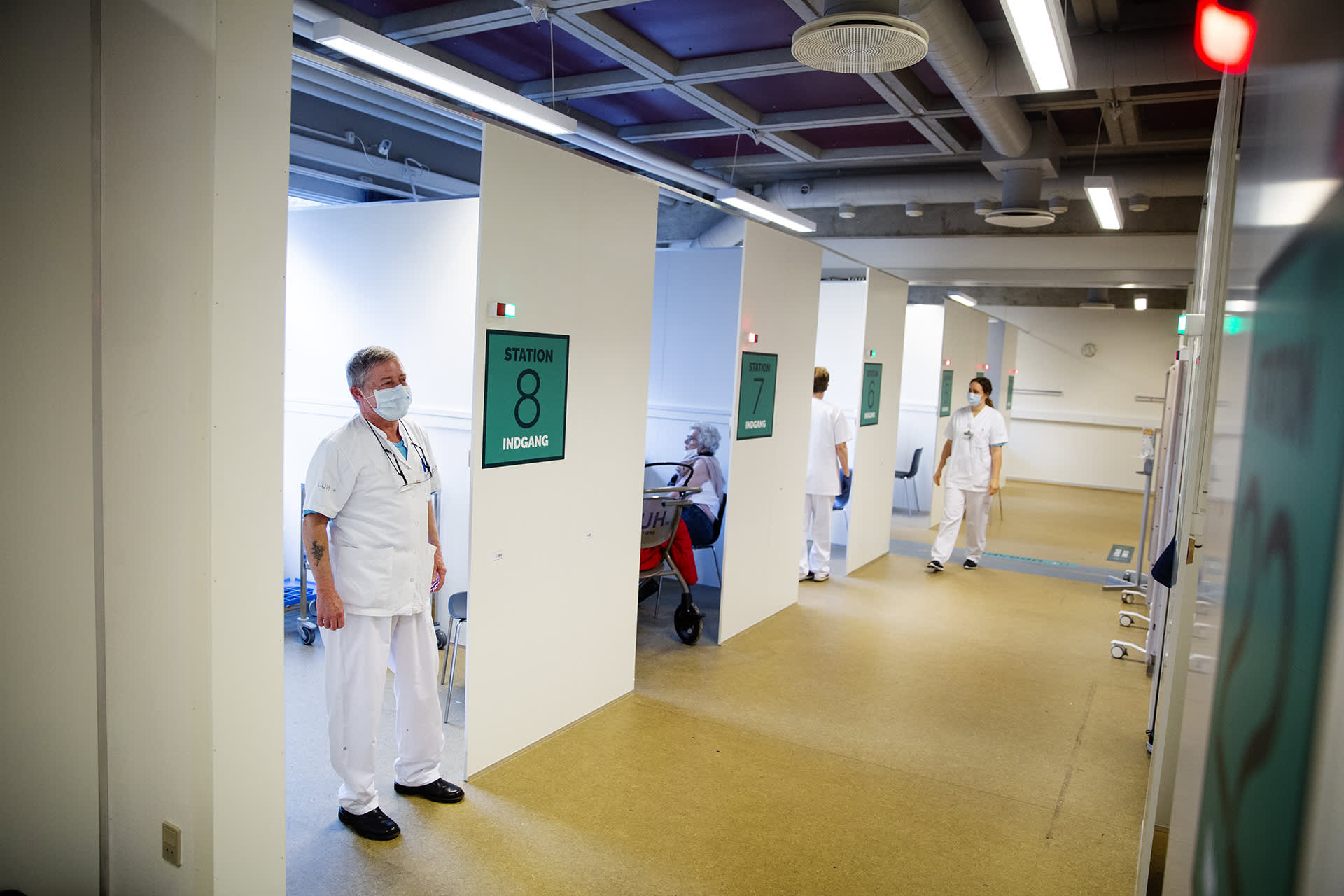 Rokotusasema Odensessa