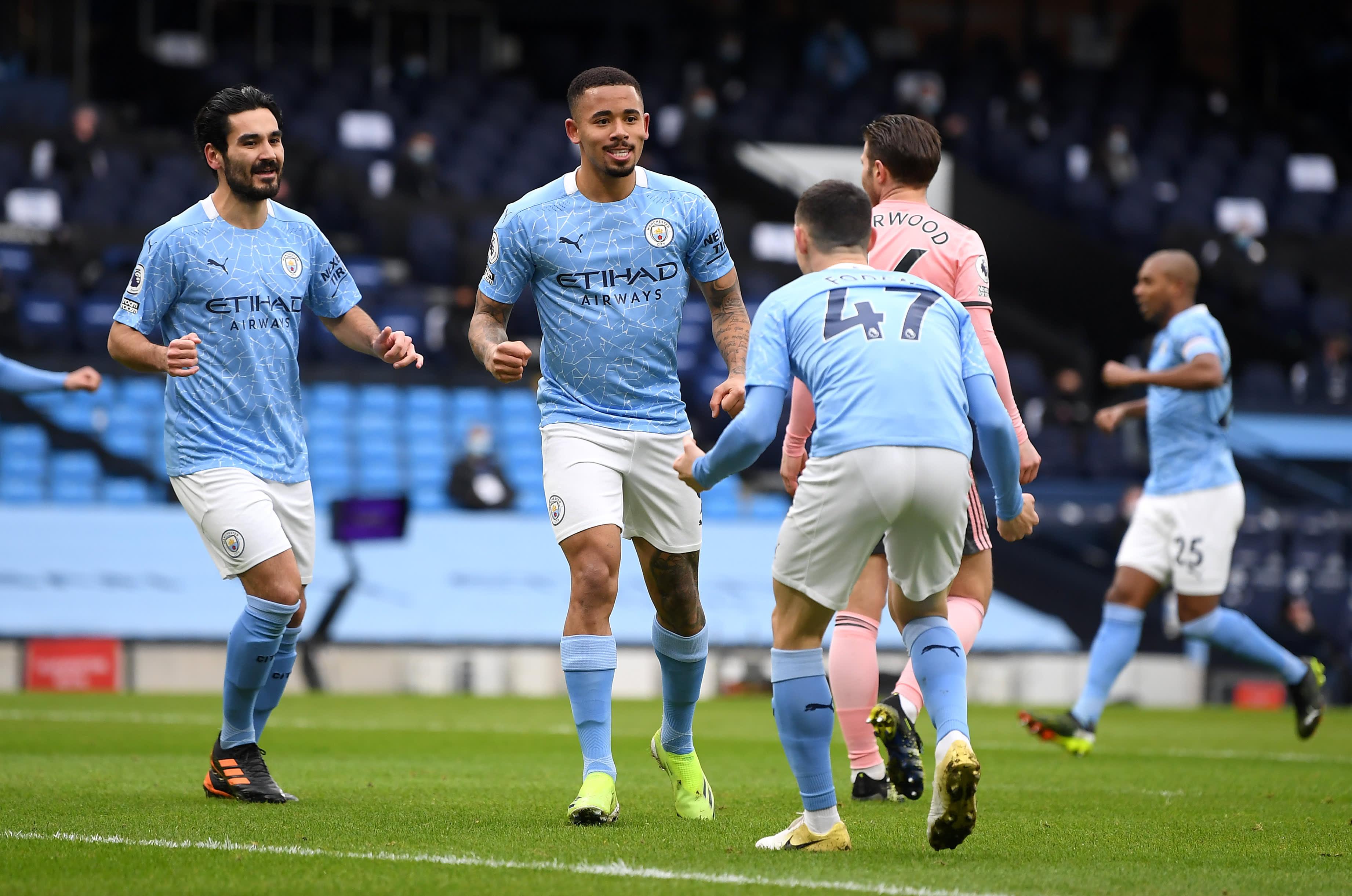 Gabriel Jesus, Manchester City