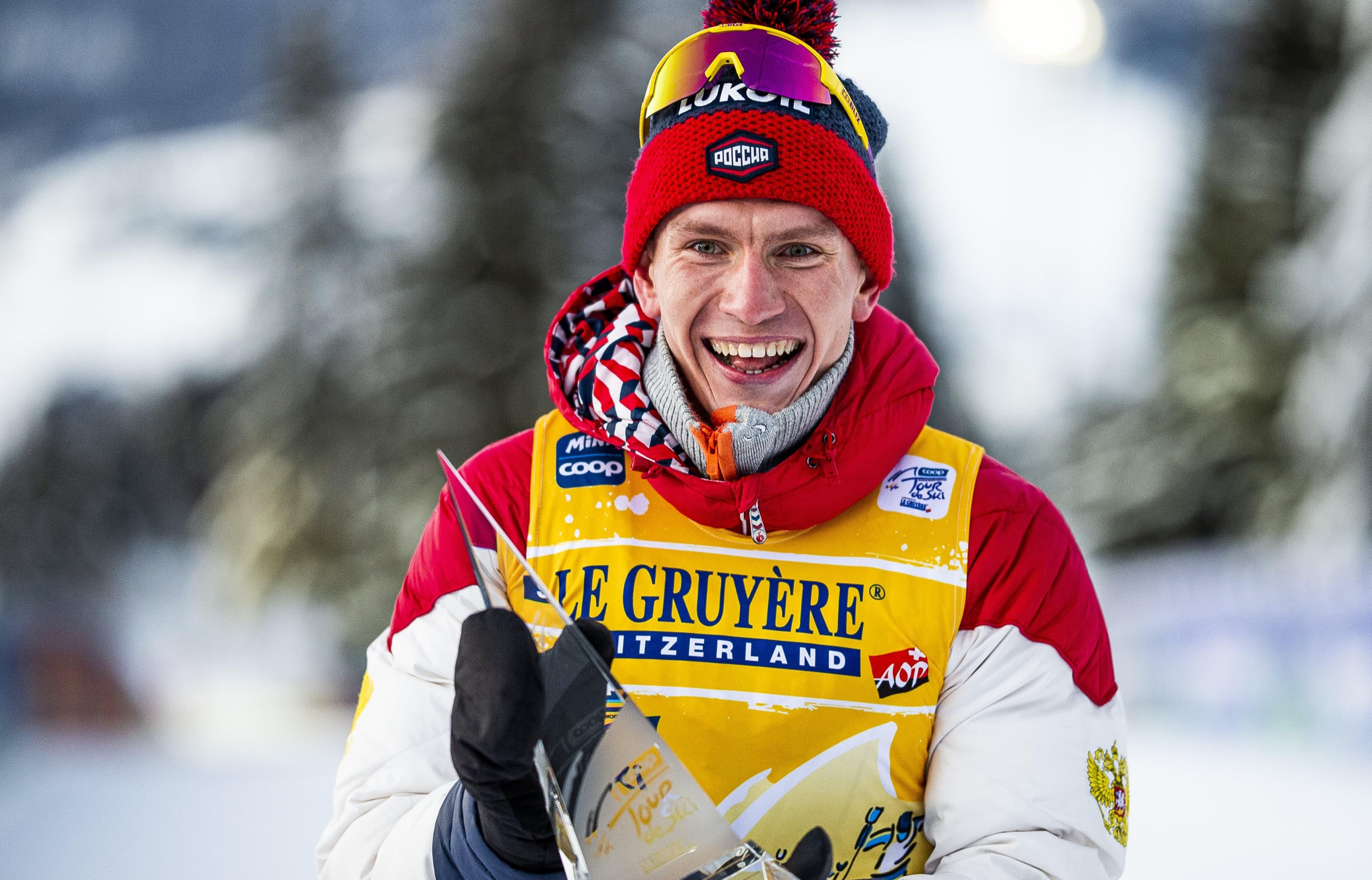 Aleksandr Bolshunov tuuletti tammikuussa arvostetun Tour de Ski -kiertueen voittoa. Oberstdorfin MM-kisoissa tulisieluiselle venäläiselle kelpaa vain voitto.