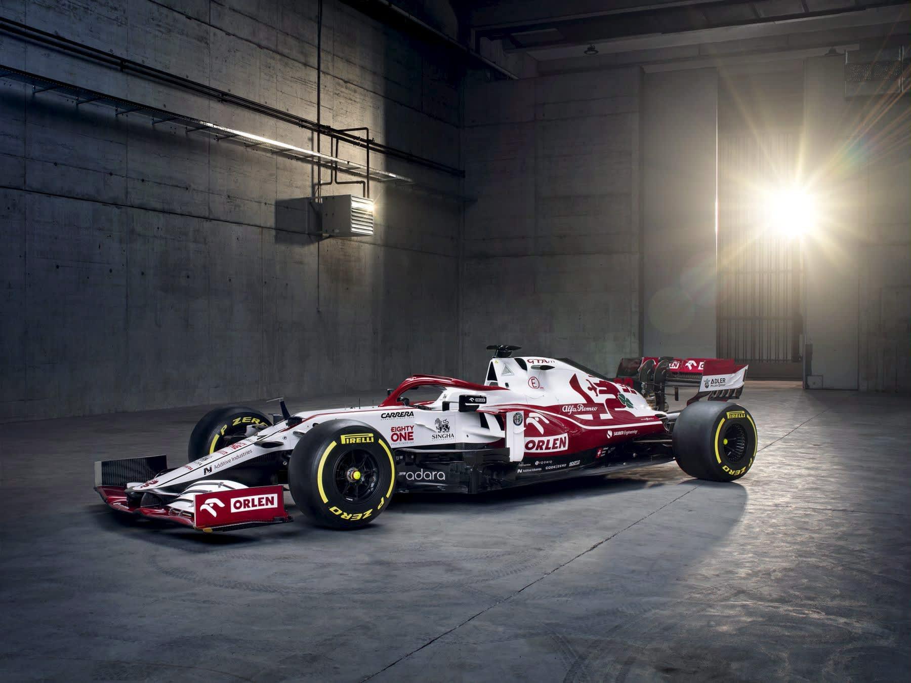 Alfa Romeon F1-auto
