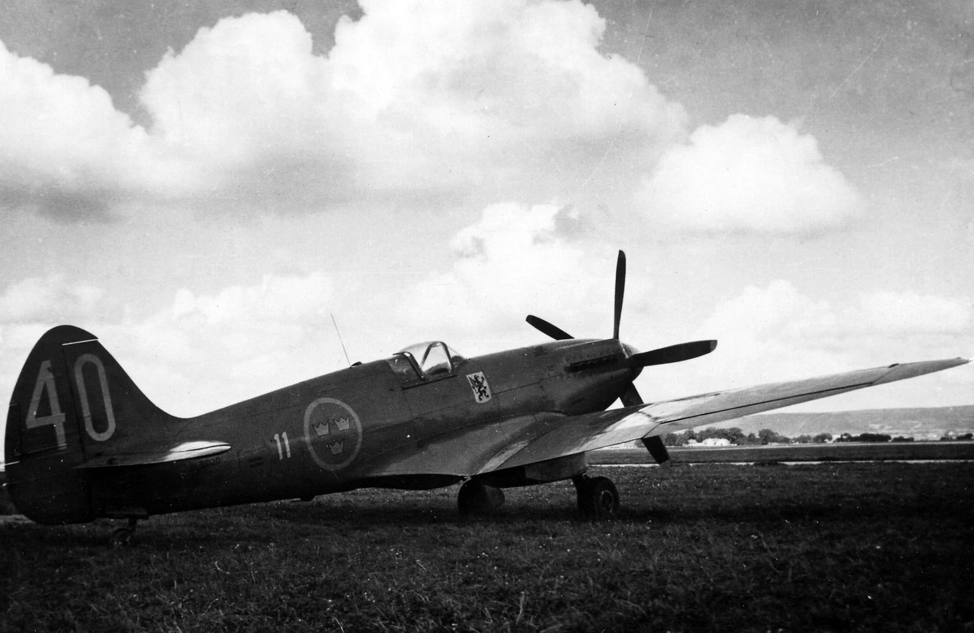 S31 Spitfire F11-40 -Leif Fredin.
