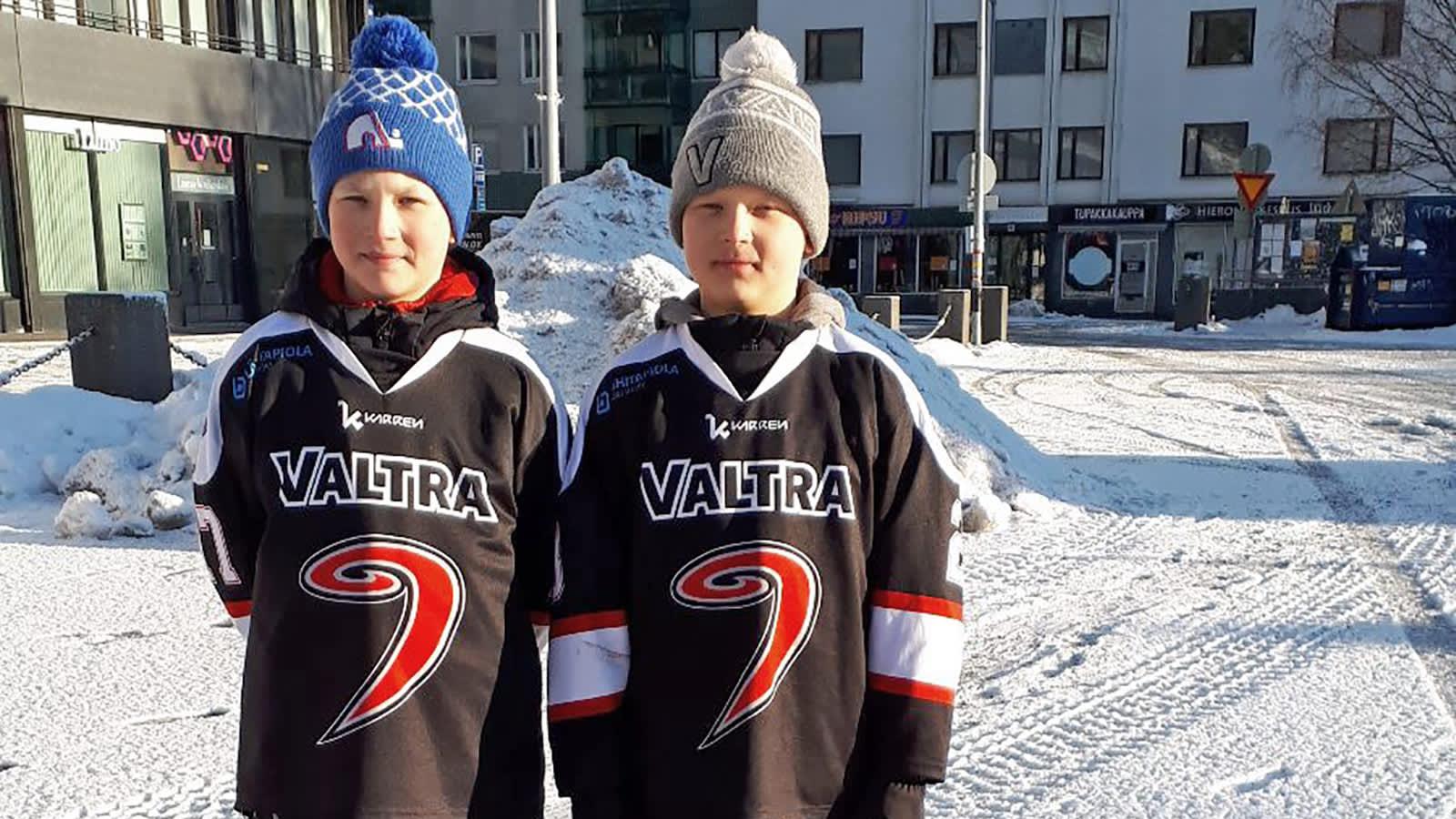 Aleksi ja Onni Ojanperä.