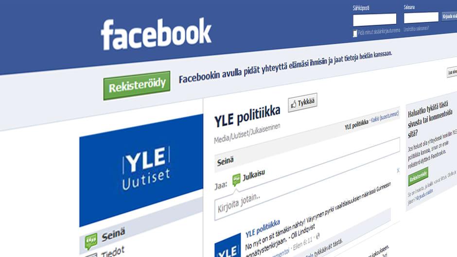 YLE Politiikan Facebook-sivu