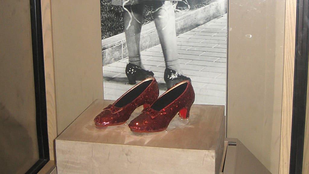 Judy Garlandin kengät.
