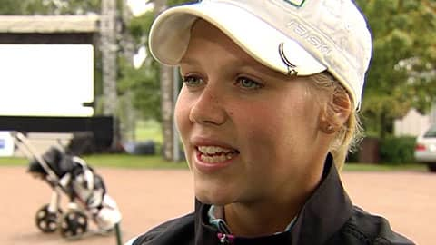 Minea Blomqvist (Arkistokuva).