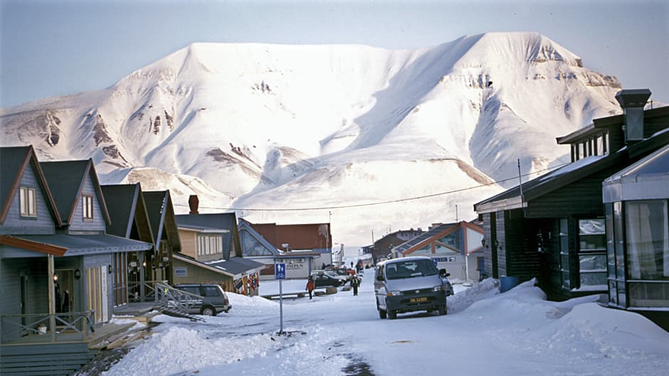 Longyearbyenin kylänraitti