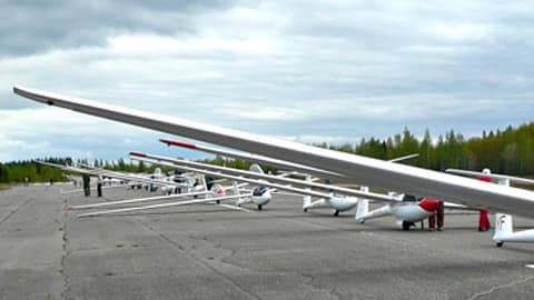 Lentokoneita.