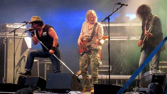 Popeda vuoden 2010 Wanaja Festivalilla Hämeenlinnassa