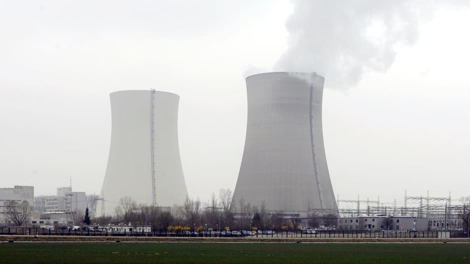 Ydinvoimala Saksan  Philippsburgissa.