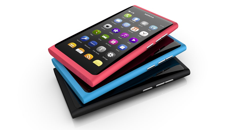Nokian N9-mallin puhelin.