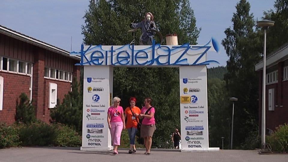 Keitelejazzia on juhlittu Äänekoskella jo neljännesvuosisadan ajan.