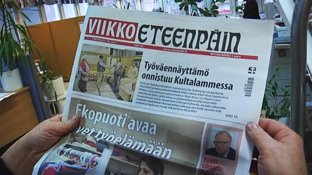 Viikko-Eteenpäin, sanomalehti