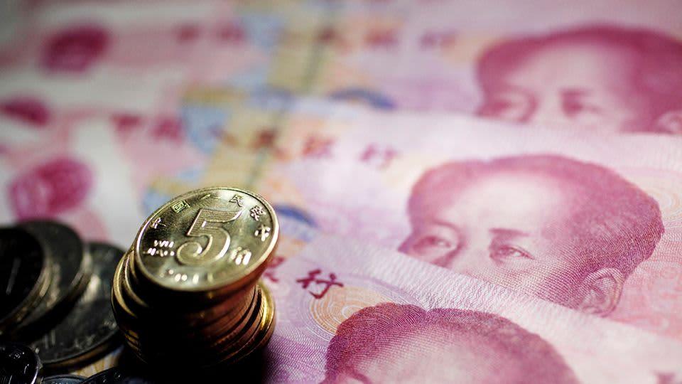 Puhemies Maon kuva koristaa edelleen Kiinan seteleitä.