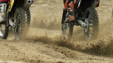Motocross-ajoa.