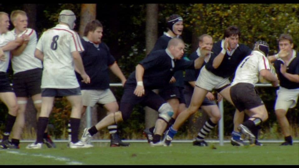 Rugby-joukkueet kohtaavat elokuvassa Freetime Machos