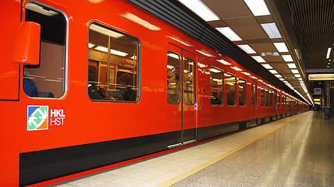 Metro asemalla.