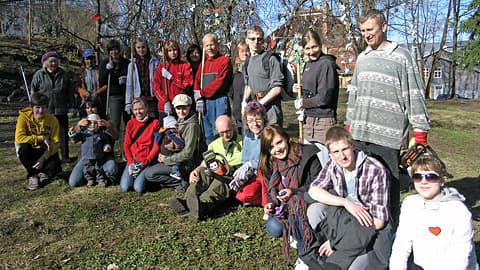 Siivoustalkoolaisia Tarton Karlovassa