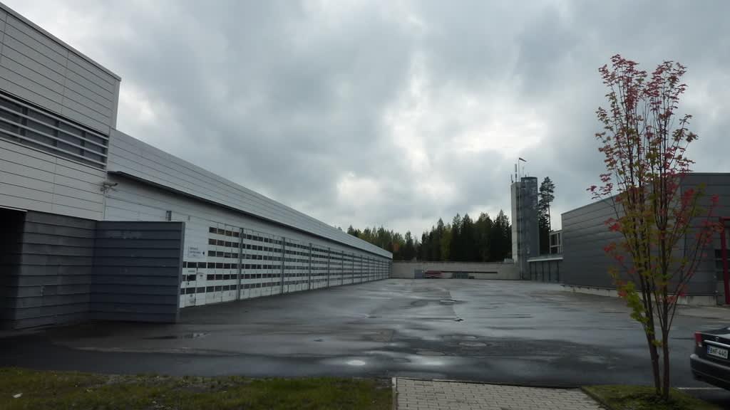 Kuopion pelastusopiston tiloja