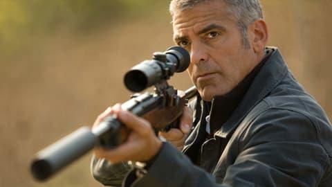 The American -elokuvan George Clooney